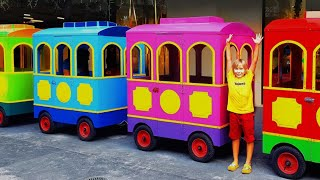 Wheels On The Bus   Nursery Rhymes song for Kids from Liova and toys