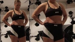 Ronda Rousey SHOCKING WEIGHT-GAIN after KO LOSS in LEAKED PHOTOS -BOXINGEGO