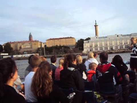 Gothenburg tourist boat ride, Göteborg turist båttur