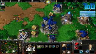 Warcraft III #626 - FunnyMan Human vs Orc (Twisted Meadows)