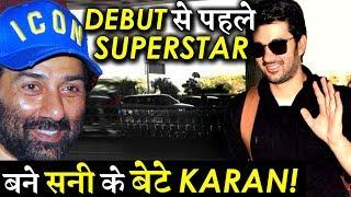 It Seems Karan Deol Has Become A Superstar Before His Debut Film PAL PAL DIL KE PAAS