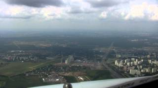 ILS19 to Vnukowo Airport, HD Cockpit View