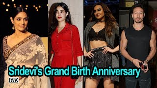Grand Bollywood Party on Sridevi's Birth Anniversary
