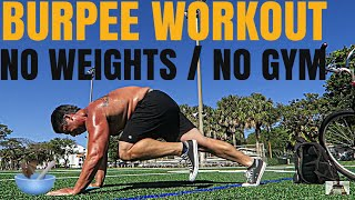 Burpee Workout is the best Cardio & Fat loss Exercise / At home & No  Equipment #workout #burpees