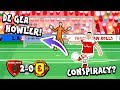 🚨DE GEA HOWLER - CONSPIRACY?🚨 2-0! Arsenal vs Man Utd (Premier League Goals Highlights Parody) thumbnail