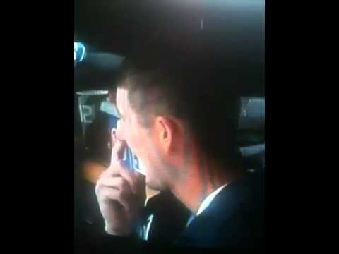 Drew Smyly of the Detroit Tigers picking his nose