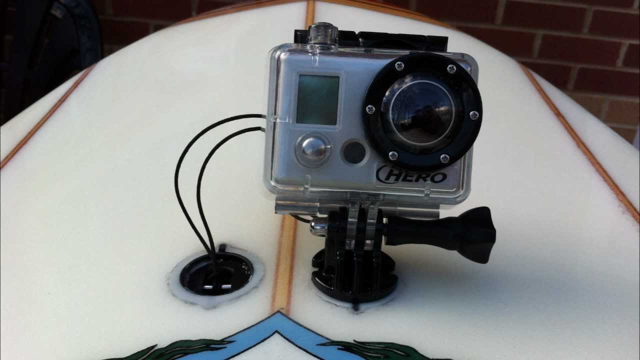 How To Remove Gopro Mount Surfboard