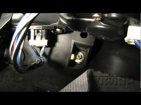 How to install replace heater ac blower fan motor toyota for Toyota blower motor resistor