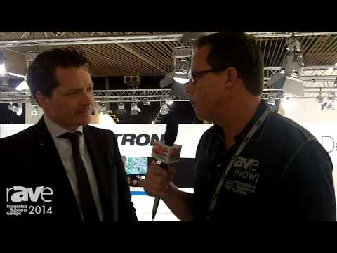 ISE 2014: Gary Kayye Talks to Crestron's Robin Van Meeuwen About ISE, New Products