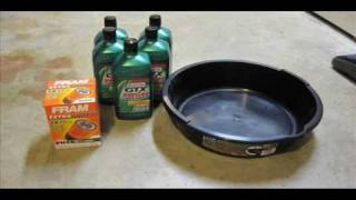 How to change your oil and filter!