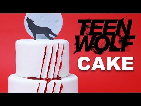 TEEN WOLF CAKE - NERDY NUMMIES