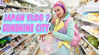 ? SUNSHINE CITY & MILKY WAY CAFE! | JAPAN VLOG 7 ?