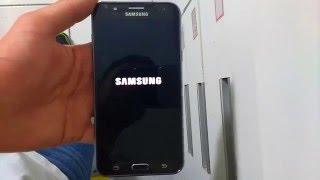 Remover senha email do j7 desbloquear com hard reset Samsung