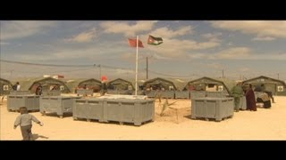 Syrian refugees: Jordan won't let us go back (cnn)  3/7/13