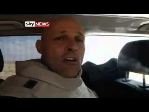 Sky News' Sam Kiley comes under fire on Libya front line