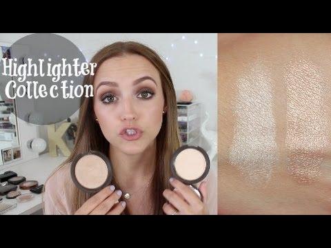 My Makeup Stash- Highlighters