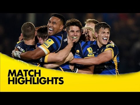 Worcester Warriors Vs Northampton Saints - Aviva Premiership 2015/16