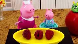 Свинка Пеппа с Бабушкой расскажет о ягодах Развивающий мультик для детей. Developing video Peppa Pig