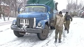 Ситуация на Дебальцевском направлении остается самой напряженной в Донецкой области - (видео)