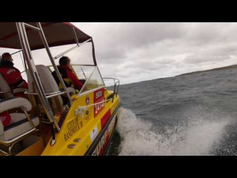 Sydney offshore rescue boat