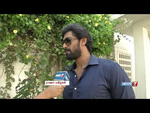 Actor Rana Daggubati about why Tamil film industry interests him thumbnail
