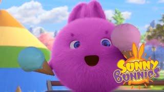 Sunny Bunnies | MONTANHA DE GELADO | Desenhos animados | WildBrain em Português