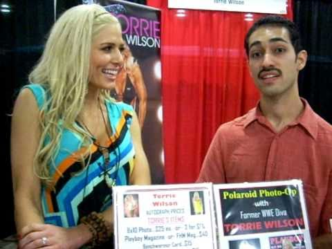 Torrie Wilson Interview--- Miami Comic Con (PART 8)