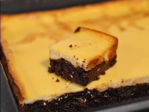 Recette du Brownies Cheesecake! Un dessert 