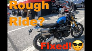 HOW-TO Dial in your Motorcycle's Suspension DIY with Öhlins