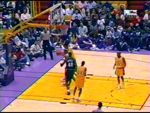 Bucks @ Lakers, 1996  (Magic Johnson)