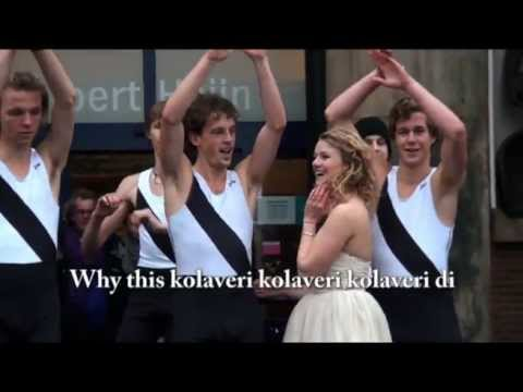 why This Kolaveri Di? Goes Dutch video
