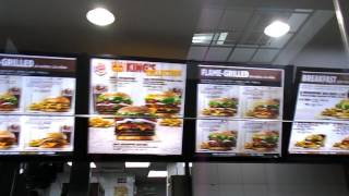 BURGER KING Menu Price @ SGN Tansonnhat International Airport  Ho Chi Minh Vietnam