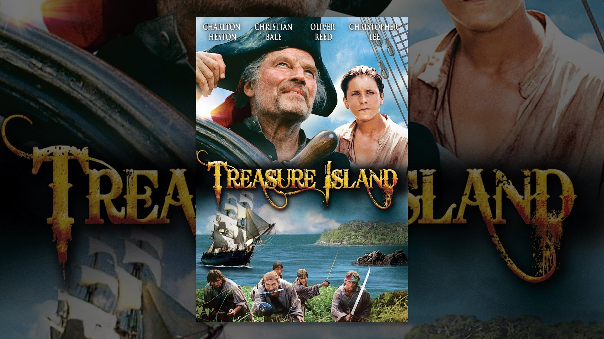 Youtube Treasure Island Charlton Heston