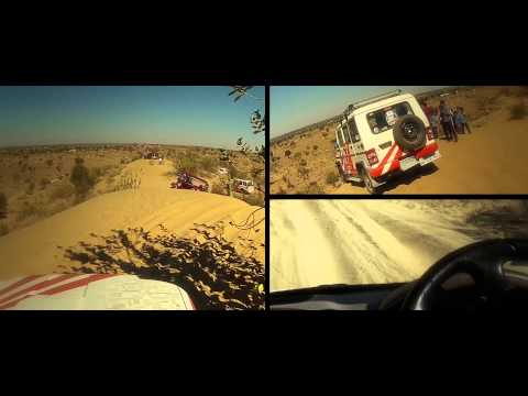 Gul Panag off roading in Rajasthan