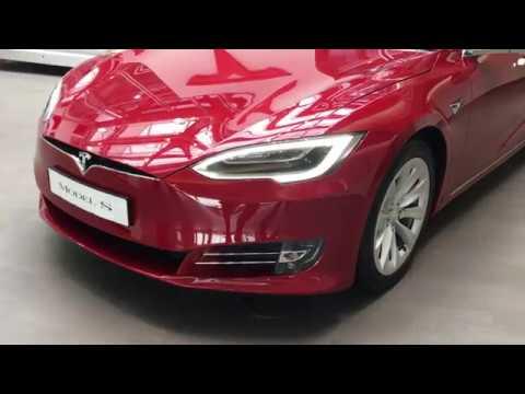 Обзор-минутка Tesla Model S 2017