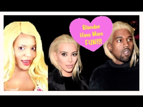 Amber Rose & Kim Kardashian- Blondes Having A TwitterBeef Fun. (*Explicit) Parody Outtake!..