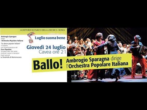 Ballo! Le Danze Popolari Italiane II Edizione – Concerto di...