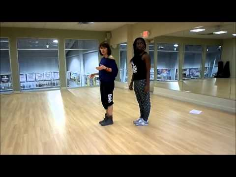 D Low Shuffle Dance Tutorial video