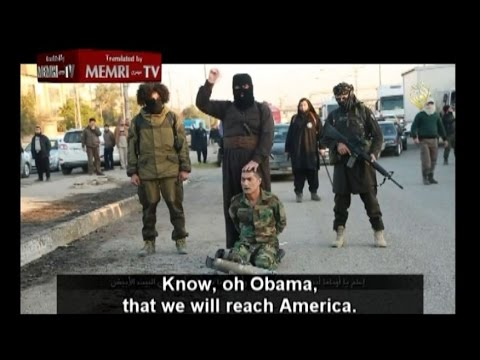 ISIS Threatens Obama with Beheading in White House. Welcome to the WAR! #TMS 1/27/2015
