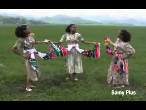 Traditional Amharic Music- Samy Defrew-  Gojjam video