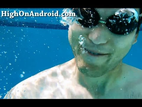 Galaxy S4 Active Pool Test!