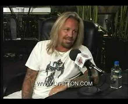 VINCE NEIL TALKS WITH IRA, PART 1