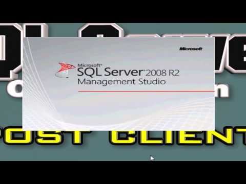 SQL Server 2008 client connection