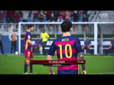FIFA 16  DEMO  FC BARCELONA + RADIO ONDACERO