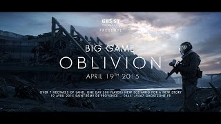 GHOST PAINTBALL - BIG GAME OBLIVION 2015 - 500 PLAYERS