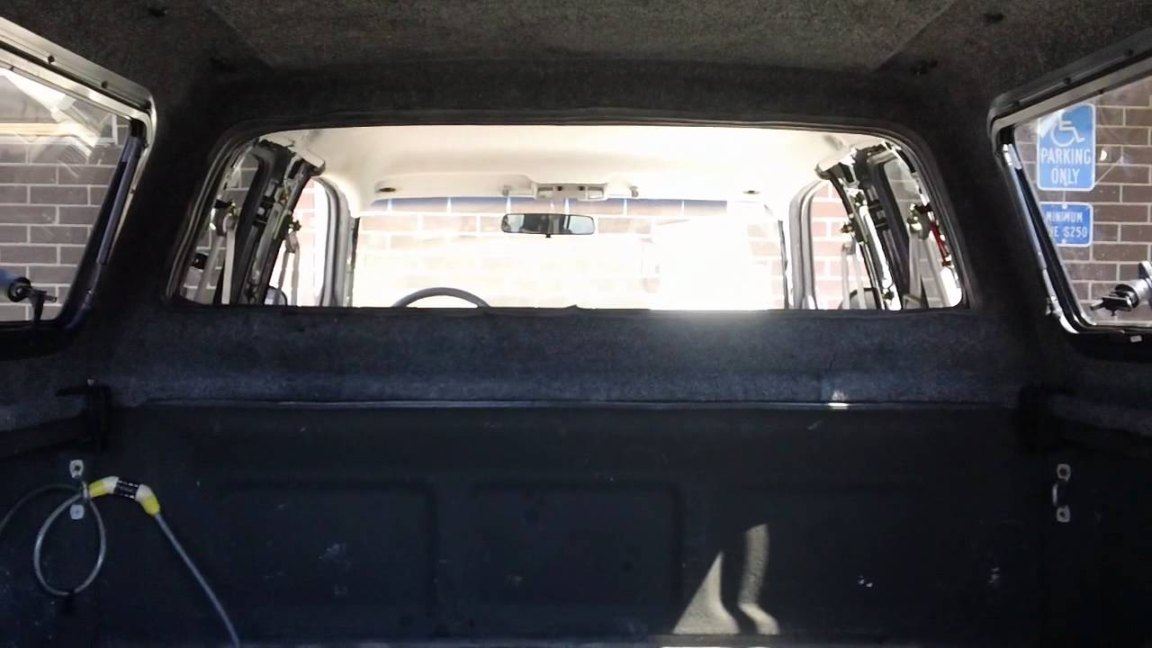 A R E Cx Series Camper Shell Or Truck Cap With Windoors