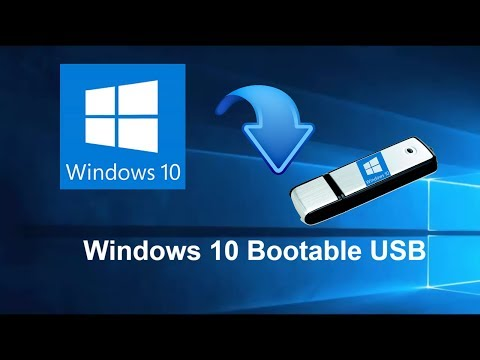 How to Create Windows 10 Bootable USB Pen drive step by step tutorial
