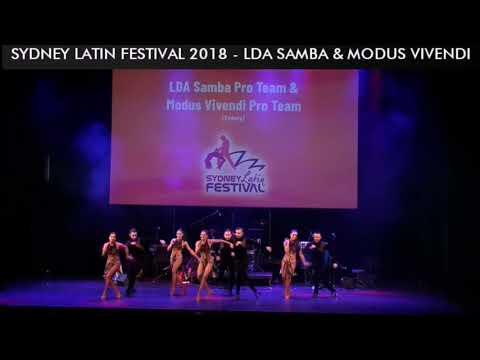 SYDNEY LATIN FESTIVAL 2018 - LDA SAMBA & MODUS VIVENDI