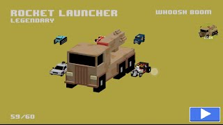Rocket Launcher: New Legendary Smashy Road Wanted Car!