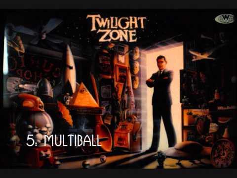 The Twilight Zone Pinball Music video